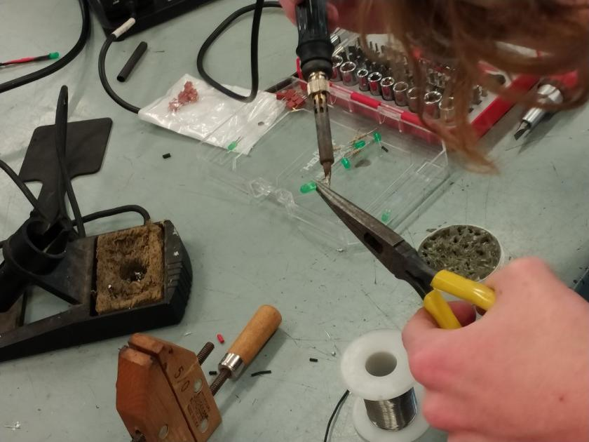 Andy Soldering